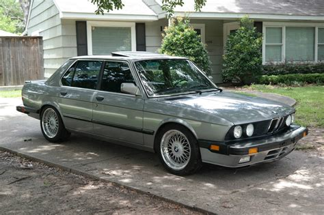 1988 bmw 535is own a classic bmw 535is for just 7 000 photo gallery