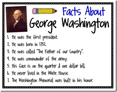 george washington biography for third grade mrs bumgardner s 1st grade class president s day