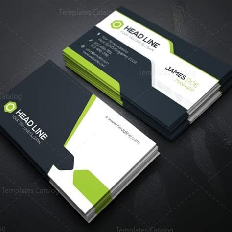 technology business card templates corporate business card template 000078 template catalog