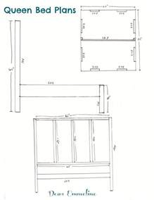 headboard dimensions the building ofbed bed frame plans and headboard