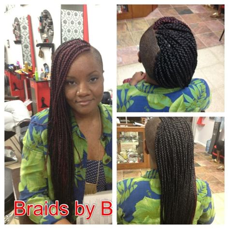 nubian hair long single plaits with shaved hair on sides 30 best braids with shaved hairstyles for women to copy now