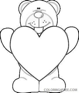 purple heart coloring page heart of a purple nose bear holding a giant red heart