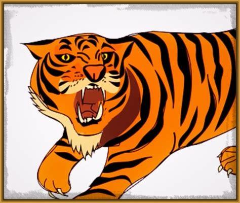 imagenes de tigres faciles para dibujar dibujos de tigres faciles para dibujar archivos imagenes