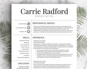 professional resume templates cv templates by