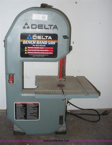 delta bench band saw item 4319 sold march 5 manhattan auction purple wave