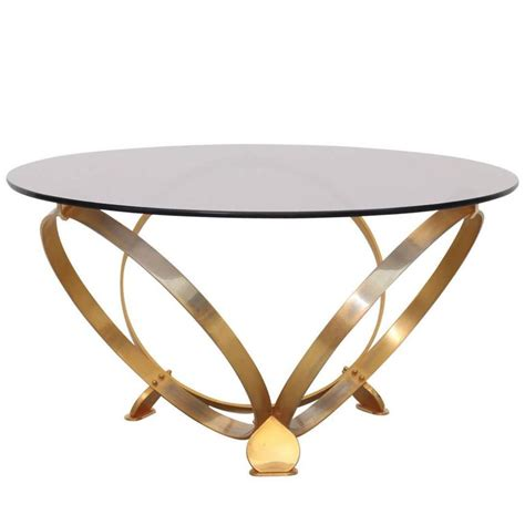geometric glass coffee table brass geometric rings coffee table with glass top