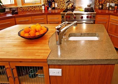 Concrete Countertops Sacramento by Kitchen Island Upconcrete Countertopsflowstone Concrete Studiosacramento Ca