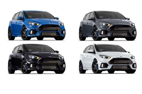 ford focus rs colors ford focus rs pricing announced