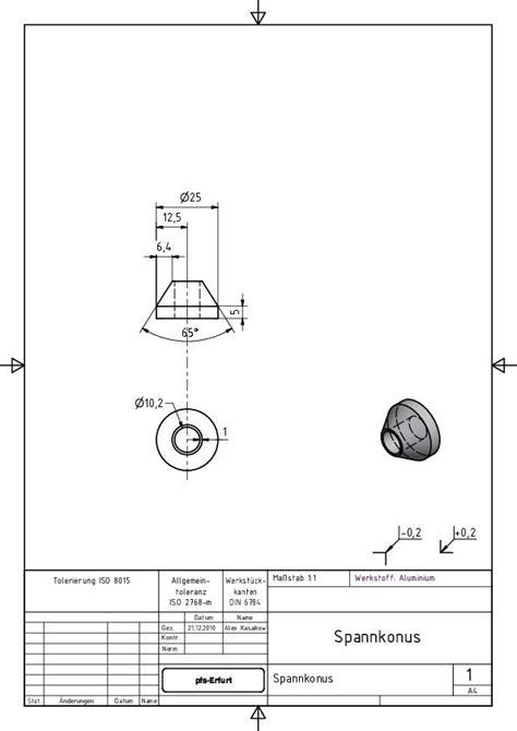 Schnittdarstellungen In Technischen Zeichnungen by Gesamtes Projekt Technische Zeichnung Wissenstransfer