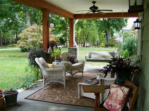 patio veranda outdoor covered patios porch traditional with area rug