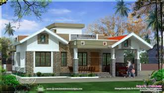 home design indian house plans kerala style single floor plan contemporary renderings and