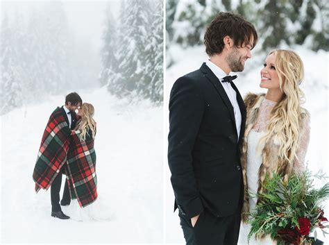 Hochzeit Winter by Vintage Bohemian Winter Wedding Mike Green