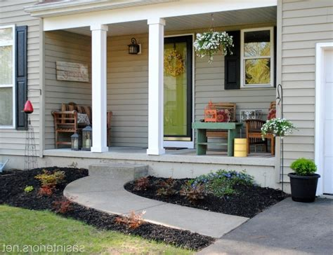 home front decor ideas how to decorate a narrow front porch lavish home design