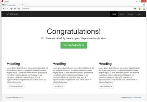 layout en yii2 yii2 простое приложение c angularjs фронтендом
