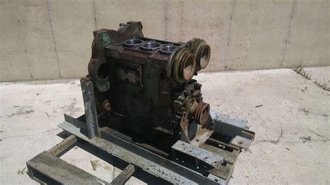 engine detroit diesel dt  engine short block core good  esn