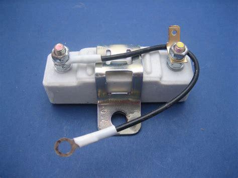 2 ohm ballast resistor ballast resistor 1 6 ohms