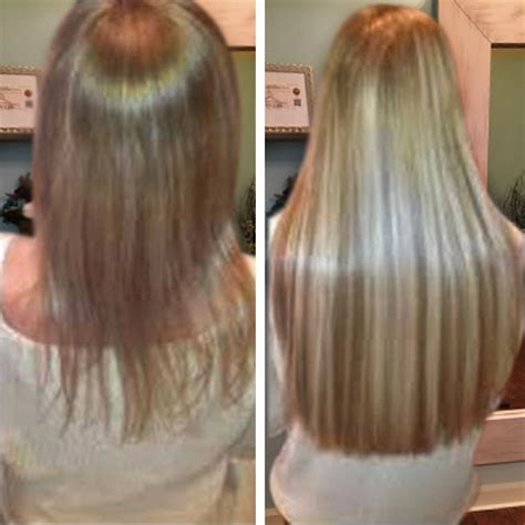 thin hair after extensions hair extension specialist of the palm beaches straight