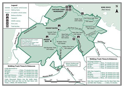 norfolk island map norfolk island national park trail map norfolk island