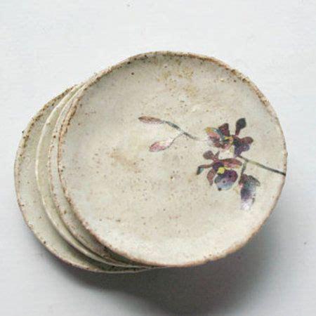 Handmade Phlets - ceramic plates cool gray
