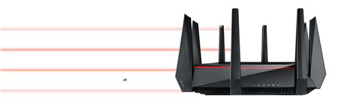 Asus Rt Ac5300 Tri Band Wifi Gigabit Router For Gamers asus rt ac5300 ac5300 tri band wi fi gigabit router for