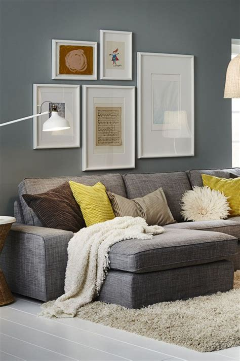 Ikea Living Room Yellow Best 25 Grey Sofa Decor Ideas On Living Room