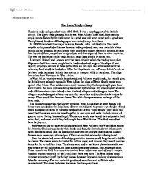 History Essay On Slavery by The Trade Essay Gcse History Marked By Teachers