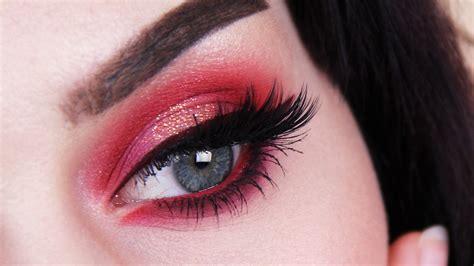 eyeshadow tutorial red red eyeshadow makeup makeup vidalondon