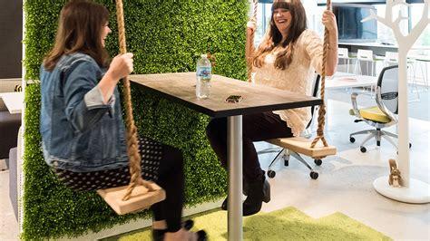 swing time waukesha milwaukee s coolest offices swing chair zen room