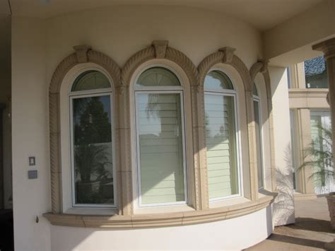 Styrofoam Stucco Trim Precast Architectural Trim And Accents Mediterranean
