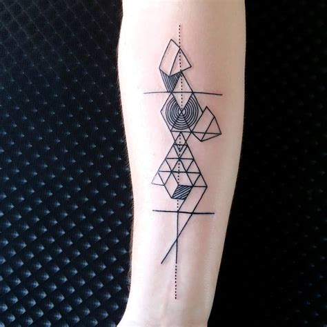 geometric shapes tattoo 100 geometric designs meanings shapes