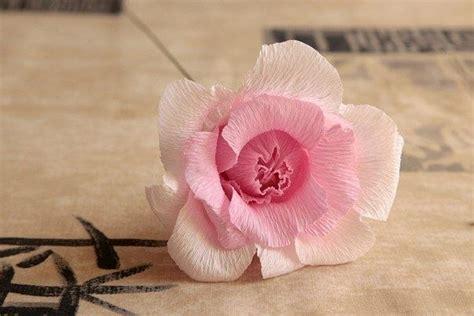 como hacer moo de papel crepe como hacer rosas en papel crepe ideas y manualidades