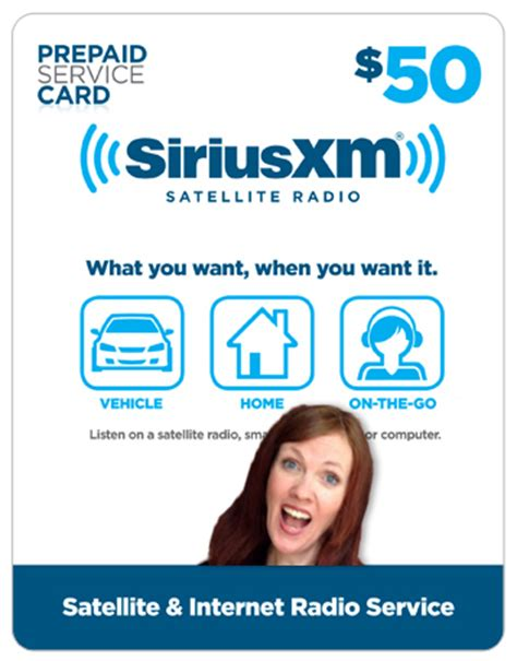 Siriusxm Amazon Gift Card - give someone a subscription to listen to me on the radio and i will hand write a