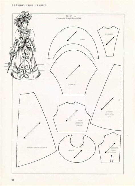barbie doll clothes pattern template 113 best images about free printable patterns for barbie