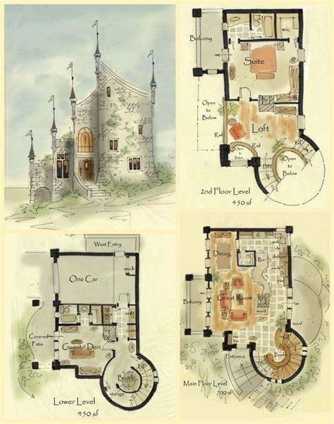 fairytale house plans 25 best ideas about castle house plans on pinterest