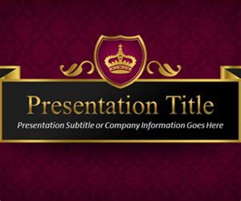free royal powerpoint templates free ppt powerpoint