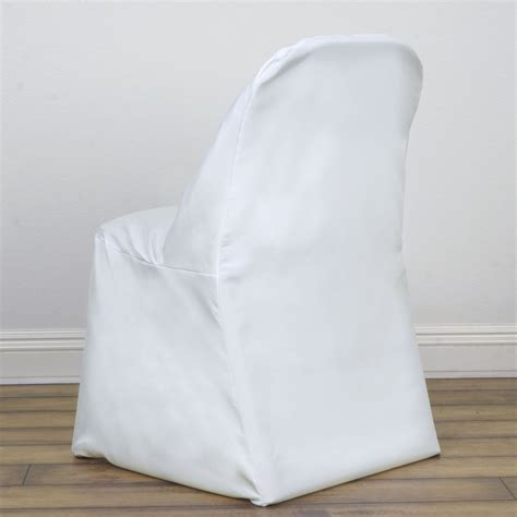 Ivory Chair Covers by Ivory Folding Chair Cover Efavormart