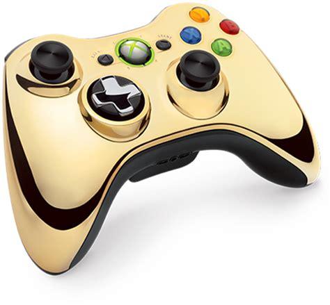 chrome xbox 360 controller gold chrome xbox 360 controller unveiled gamingreality
