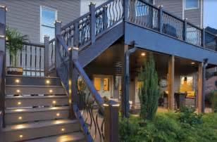 Multi Level Kitchen Island spring valley oh deck builder dayton amp cincinnati deck