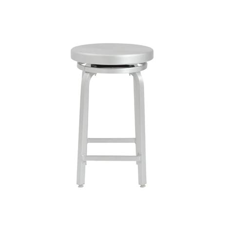 Aluminum Swivel Counter Stool by Eurostyle Miller 24 Quot Swivel Counter Stool In Matte