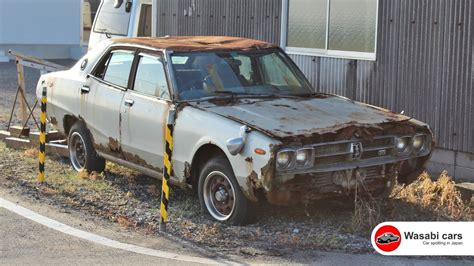 nissan 2000 gtx abandoned 1975 nissan skyline 2000 gtx sedan gc111