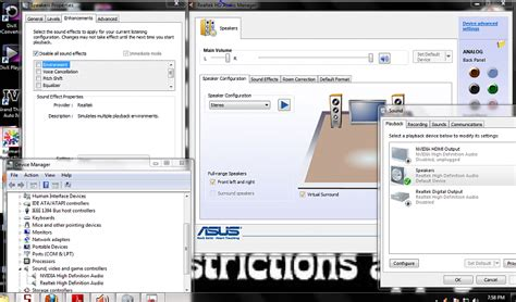 asus realtek audio driver windows 7 no sound realtek asus motherboard win7 64bit windows 7