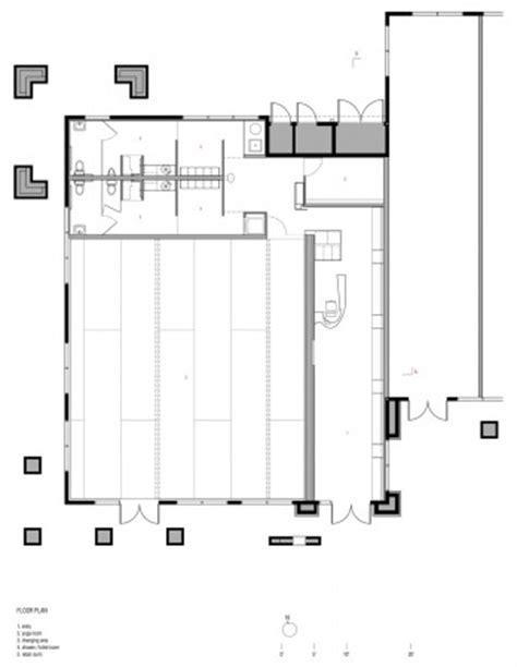 yoga studio floor plan yoga deva blank studio archdaily