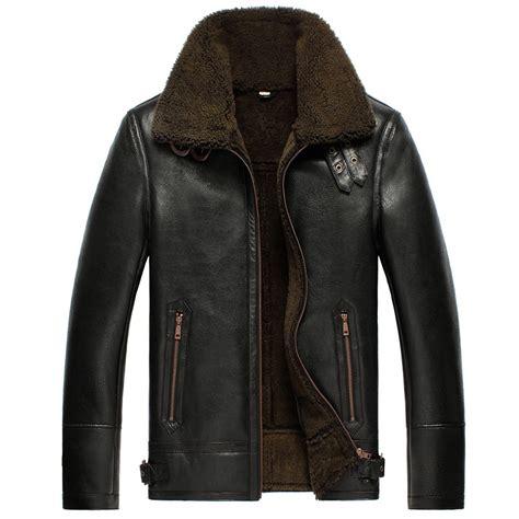 b 3 bomber jacket black b 3 sheepskin leather bomber jacket cw856135