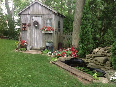 Rustic Backyard by Fairytale Backyards 30 Magical Garden Sheds