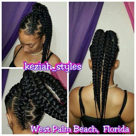 human hair ponytail with goddess braid 1000 ideas about ghana braids on pinterest box braids