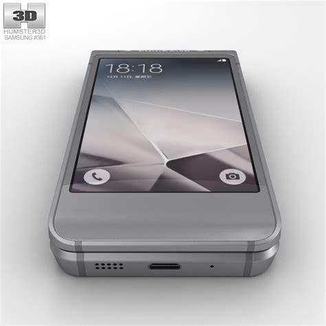 samsung w 2016 samsung w2016 gray 3d model hum3d
