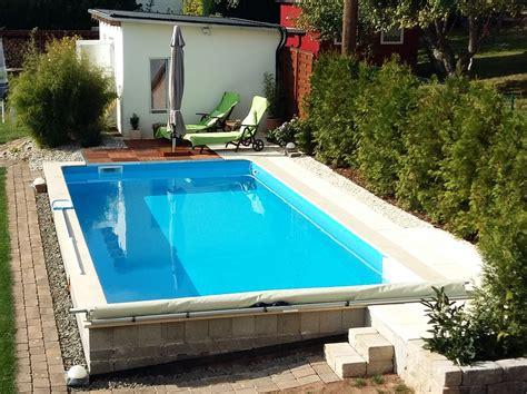 pool selbstbau pool heizung und schwimmbecken viel geld sparen durch