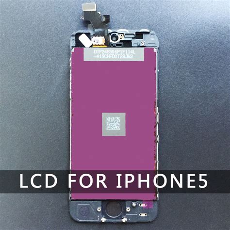 Lcd Set Touchscreen Iphone 5 G buy iphone 5 5g lcd display white touchscreen digitizer assembly replacement screen dead pixel