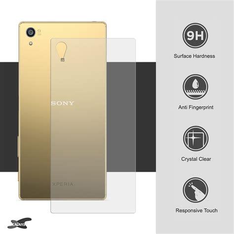 Tempered Mirror Glass Sony Xperia Z Z1z2z3z5 9h tempered glass back side protector sony xperia z5 premium