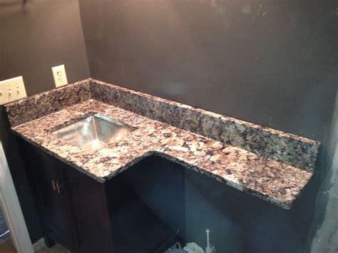 Pegasus Countertops by Granite America Pegasus Vanity With Overhang Granite America